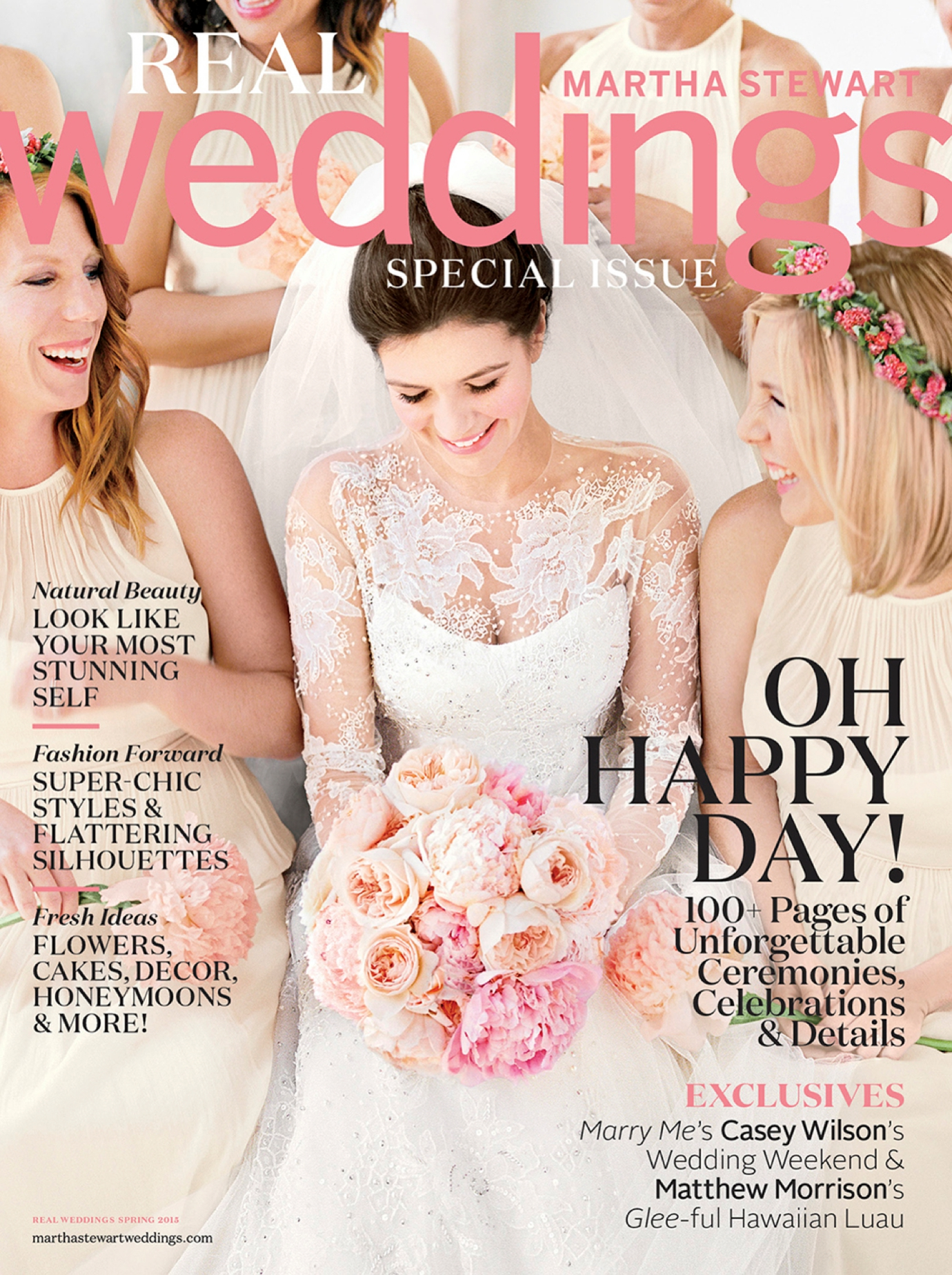 FEATURED Martha Stewart Weddings Magazine Carlie Gabe